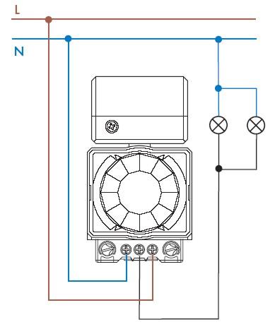 Схема электрических соединений.