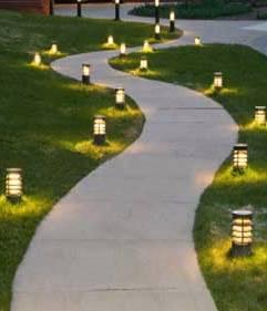 уличные парковые светильники