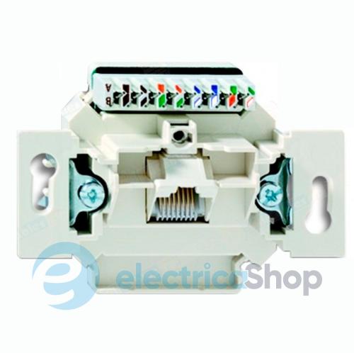 Механизм розетки — «компьютерная на 1-выход» UTP-неэкранированная, «Gigabit 5c249eee80d