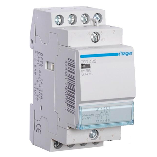 ��������� ��������� � ������� ���� �Hager ESD425S� 24V/25A 4�.�