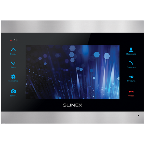 Видеодомофон Slinex SL-07IP silver+black