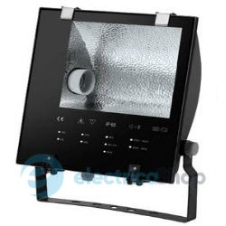 Прожектор UX-FLOODLIGHT CAPRICORN SM PEENED 1x400W,E40,MT/ST,MB,9005