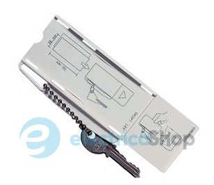 Ключ-карточка для карточных выключателей BTicino Living L4546.