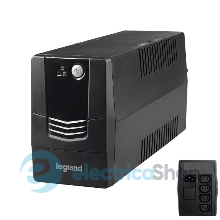 Источник бесперебойного питания Powercom Raptor RPT-1000A Euro Black