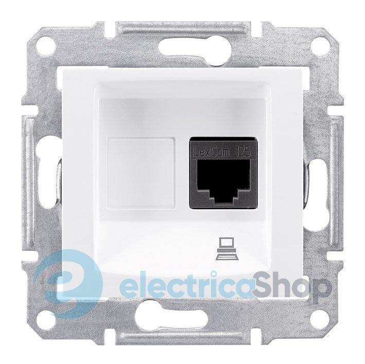 Розетка компьютерная UTP цвет белый Sedna SDN4300121. Сертификация CE —  европейское соответствие. Schneider Electric 10377b08de3