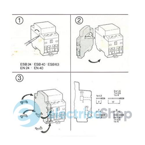 EH04-11 к контактору ESB