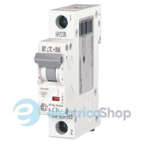EATON x Home HL-C16/1 автоматический выключатель купить цена | Электрика-Шоп Украина Киев